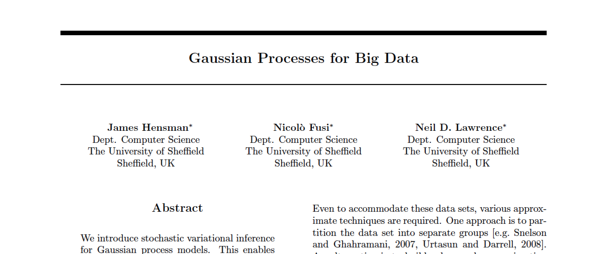 Deep Gaussian Processes