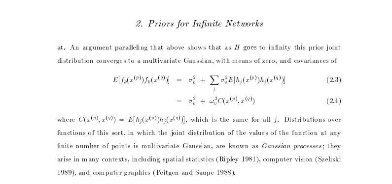 Deep Probabilistic Modelling with with Gaussian Processes